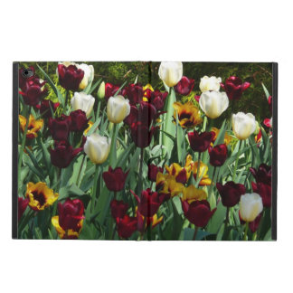 Maroon and Yellow Tulips Colorful Floral Powis iPad Air 2 Case