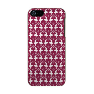 Maroon Ballarinas Incipio Feather® Shine iPhone 5 Case