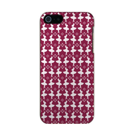 Maroon Ballarinas Incipio Feather® Shine iPhone 5 Case