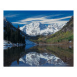 Maroon Bells in White River National Forest in