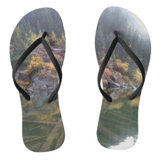 Maroon Bells Lake Flip Flops