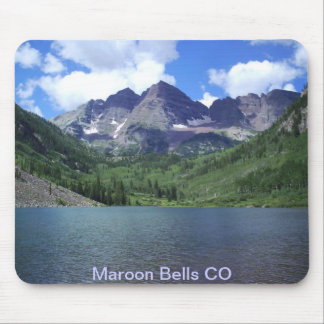 Maroon Bells Lake Mouse Pad