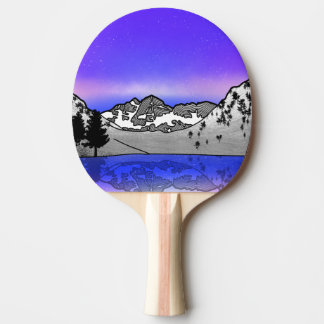 Maroon Bells landscape Ping Pong Paddle