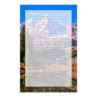 Maroon Bells Personalized Stationery