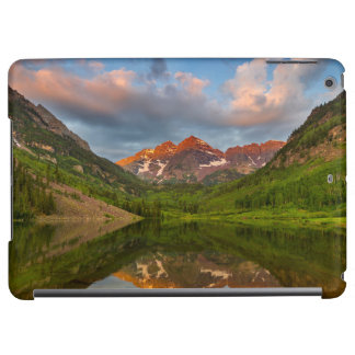 Maroon Bells Reflect Into Calm Maroon Lake 2 Cover For iPad Air