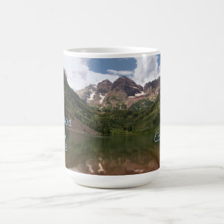 Maroon Bells Souvenir Photo Template Mug