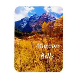 Maroon Bells Travel Template Rectangular Photo Magnet