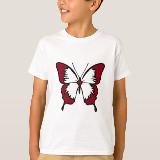 Maroon Butterfly T-Shirt
