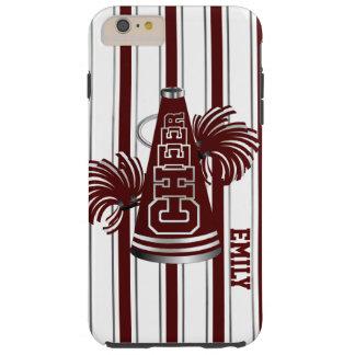 Maroon Cheerleader Custom iPhone 6 Plus Case