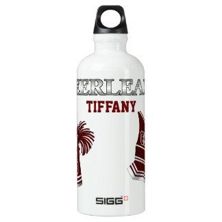 Maroon Cheerleader Water Bottle