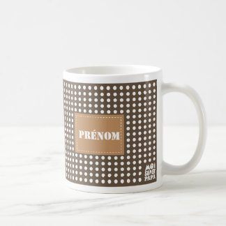 Maroon Mug to personalize - Me Super Dad