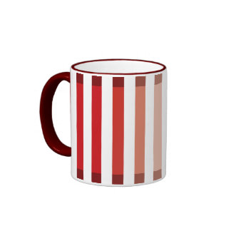 Maroon Shades Ringer Coffee Mug
