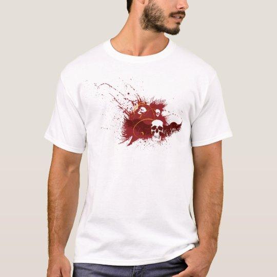 maroon skull T-Shirt