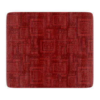 Maroon Squares Boards