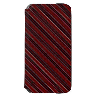 Maroon Stripe Incipio Watson™ iPhone 6 Wallet Case