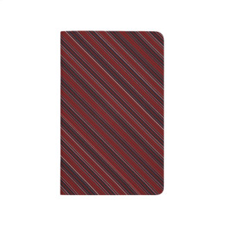 Maroon Stripe Journal