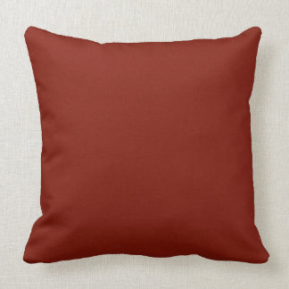 """Maroon Two-Sided 20"""" Throw Pillow"""