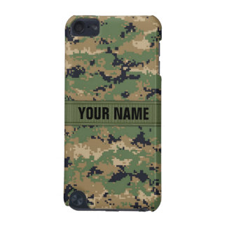 MarPat Digital Woodland Camo #2 Personalized iPod Touch 5G Cases