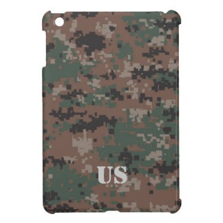 MarPat Digital Woodland Camouflage Customizable #1 Cover For The iPad Mini