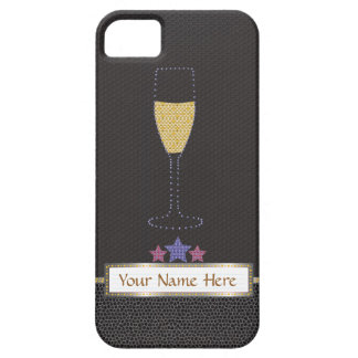 """Marquee and champagne black  """"Barely There"""" iPhone 5 Cover"""