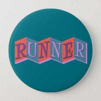 Marquee Runner 4 Inch Round Button