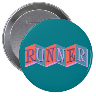Marquee Runner 4 Inch Round Button