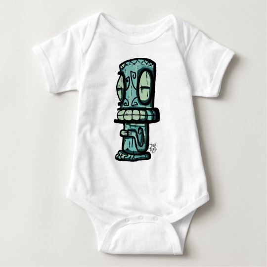 Marquesan Tiki by Tiki tOny Baby Bodysuit