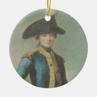 Marquis de Lafayette - Cincinnati badge Ceramic Ornament