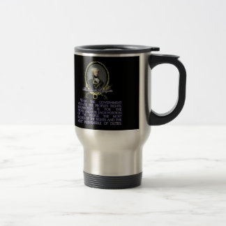 Marquis de Lafayette Quote on Insurrection Travel Mug