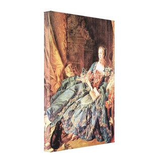 Marquise de Pompadour ~ François Boucher Stretched Canvas Prints