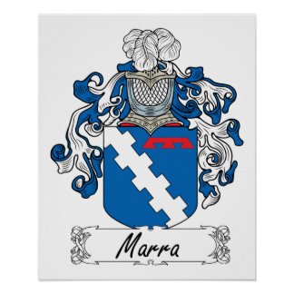 Marra Family Crest Poster