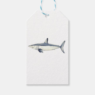 Marrajo - Isurus transparent oxyrinchus-Bottom Pack Of Gift Tags