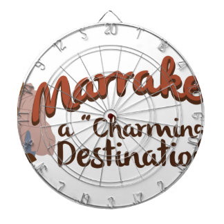 Marrakech Charming Destination Dartboard