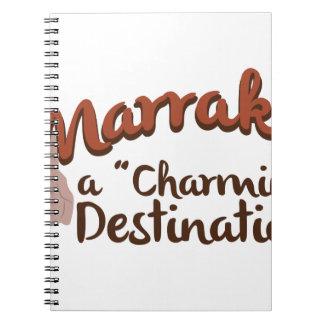 Marrakech Charming Destination Notebooks