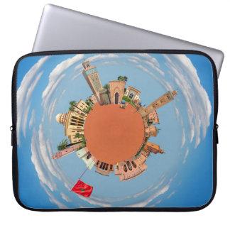 marrakech little planet morocco travel tourism lan laptop sleeve