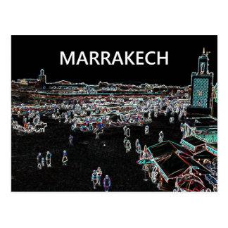 Marrakech - Morocco Postcard. Postcard