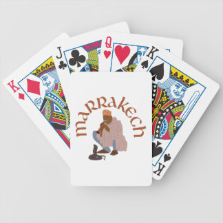 Marrakech Snake Charmer Bicycle Playing Cards
