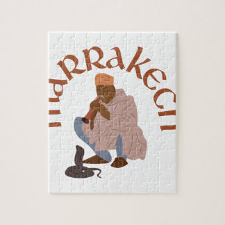 Marrakech Snake Charmer Jigsaw Puzzle