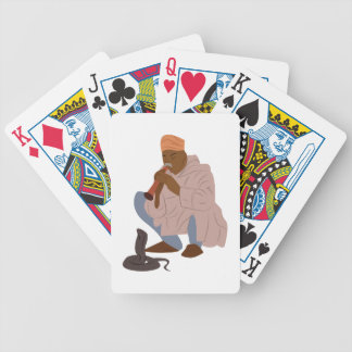Marrakech Snake Charmer Poker Deck