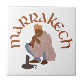 Marrakech Snake Charmer Tile