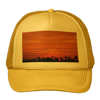 Marrakech Sunset Baseball Cap Trucker Hat