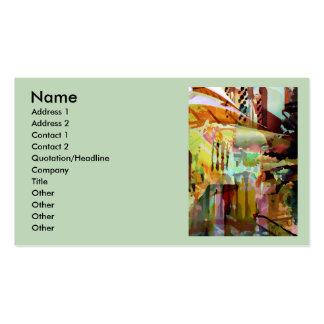 Marrakesh Arches Pack Of Standard Business Cards