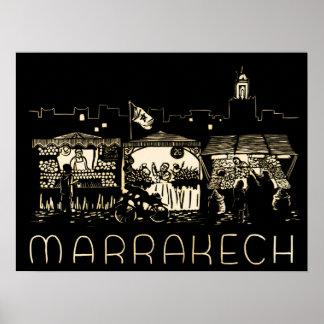 Marrakesh,Morocco, Poster