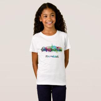 Marrakesh skyline in watercolor T-Shirt