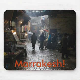 Marrakesh souk in Morocco Mouse Pad