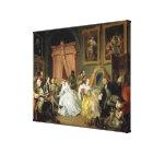 Marriage a la Mode: IV, The Toilette, c.1743 (oil Canvas Print