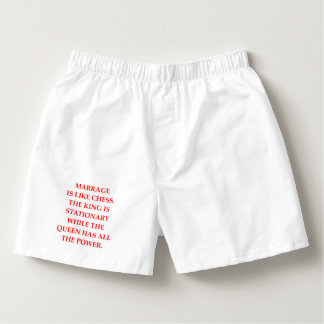 MARRIAGE BOXERS