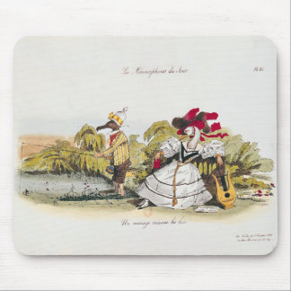 Marriage by the Book Mouse Pad