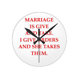 marriage clocks