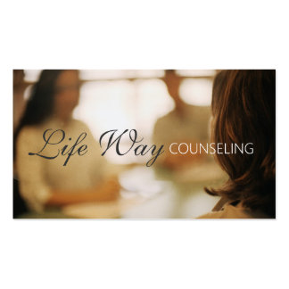 Marriage Counseling Couple Therapist Coach Busines Business Cards
